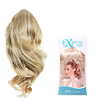 ExpressLocs Ponytail Clip-in Chic Hairpiece Dark Blonde