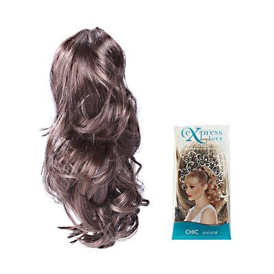ExpressLocs Ponytail Clip-in Chic Hairpiece Medium Brown