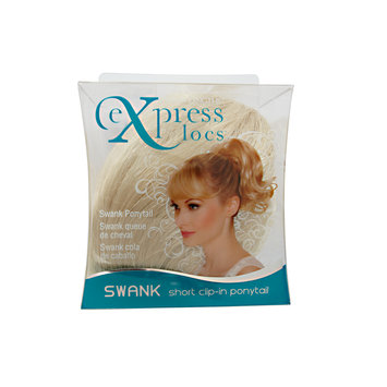 Design Lengths ExpressLocs Ponytail Clip-in Swank Hairpiece Light Blonde