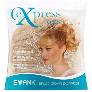 ExpressLocs Ponytail Clip-in Swank Hairpiece Dark Blonde
