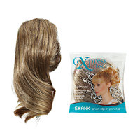 ExpressLocs Ponytail Clip-in Swank Hairpiece Frosted