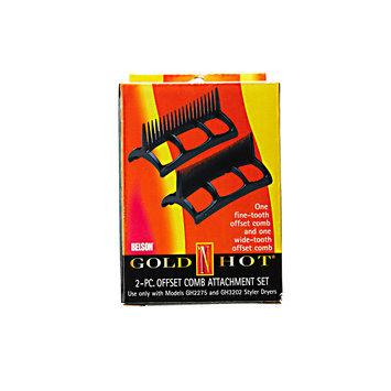 Gold 'N Hot Two Piece Comb Set for 1600-Watt Styler Dryer