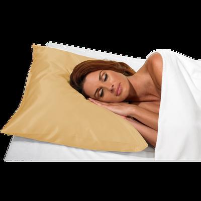 Betty Dain Beige Satin Pillow Case #121
