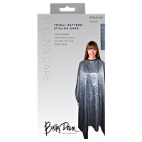 Betty Dain Tribal Print Styling Cape