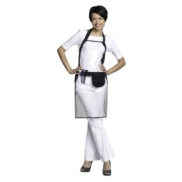 Andre Chemical Apron #8169 Clear