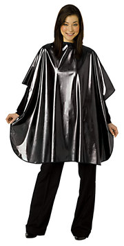 Fromm Black Metallic Shampoo Cape