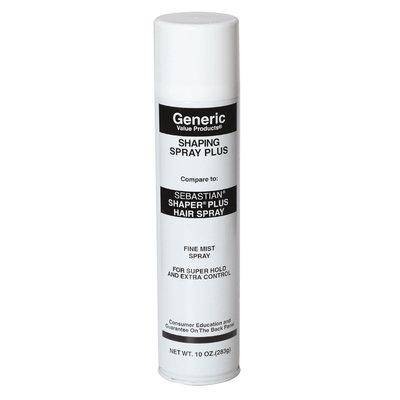 Generic Value Products GVP Shaper Spray: Compare to Sebastian Shaper Plus Hair Spray