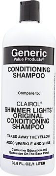 Generic Value Products GVP Conditioning Shampoo 33.8 oz.