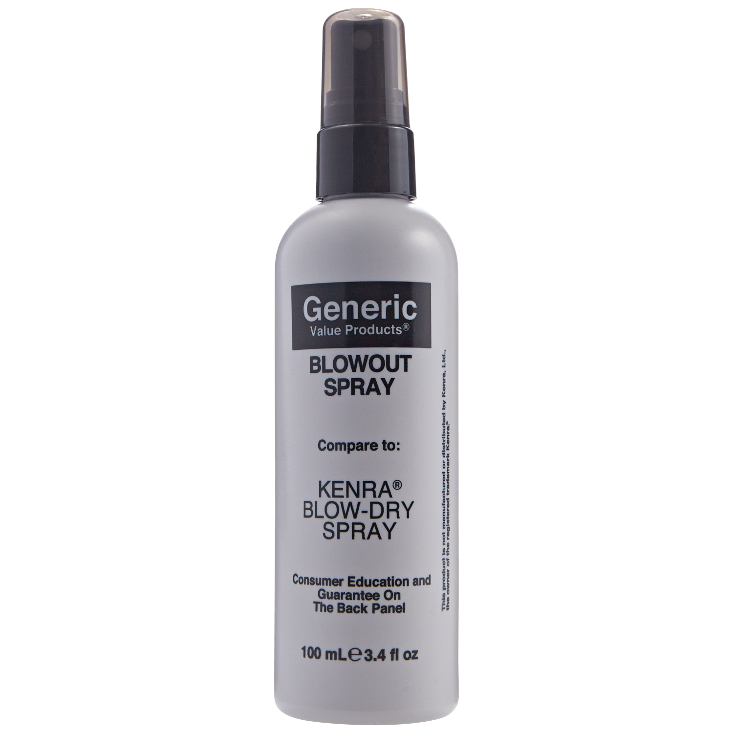Generic Value Products Blow Out Spray compare to Kenra Blow Dry Spray