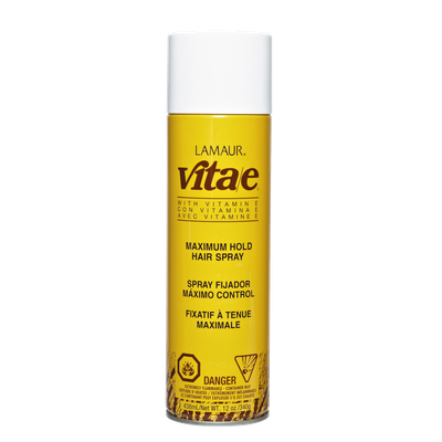 Lamaur Vita E Maximum Hold Hair Spray