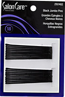Salon Care Professional Black Jumbo Hair Pins