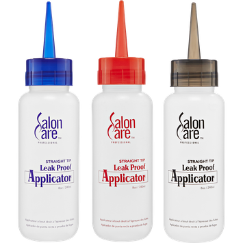 Salon Care Professional Leakproof Applicator Bottle With Straight Tip