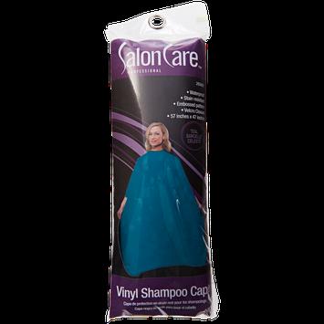 Salon Care Teal Vinyl Shampoo Cape