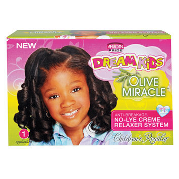 African Pride Dream Kids Olive Miracle Relaxer Kit Regular