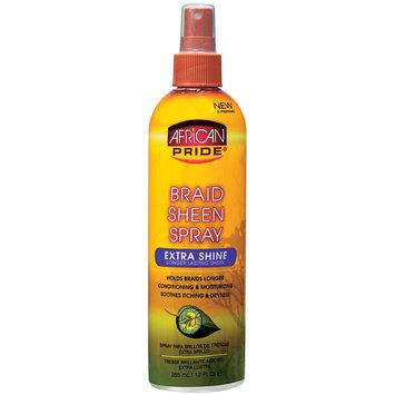 African Pride Braid Spray Extra 12 oz