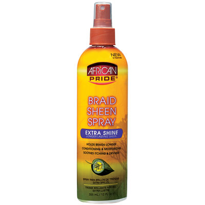 African Pride Braid Spray Extra 12 oz