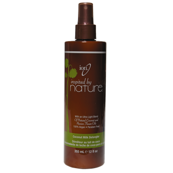 Ion Inspired by Nature Coconut Milk Leave-in Detangler