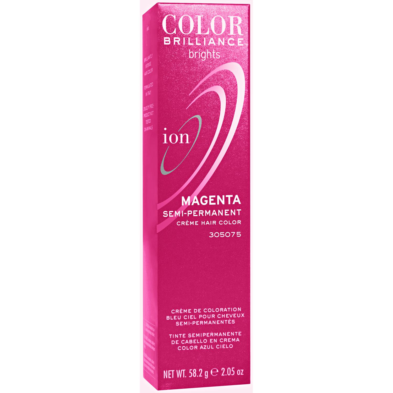Ion Color Brilliance Brights Semi-Permanent Hair Color Magenta
