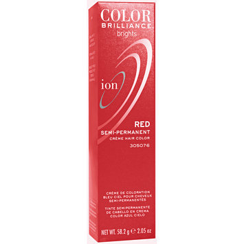 Ion Color Brilliance Brights Semi-Permanent Hair Color Red