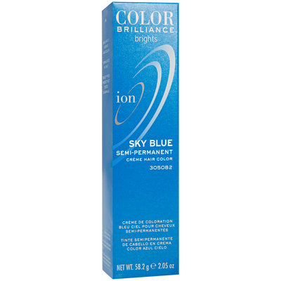 Ion Color Brilliance Brights Semi-Permanent Hair Color Sky Blue