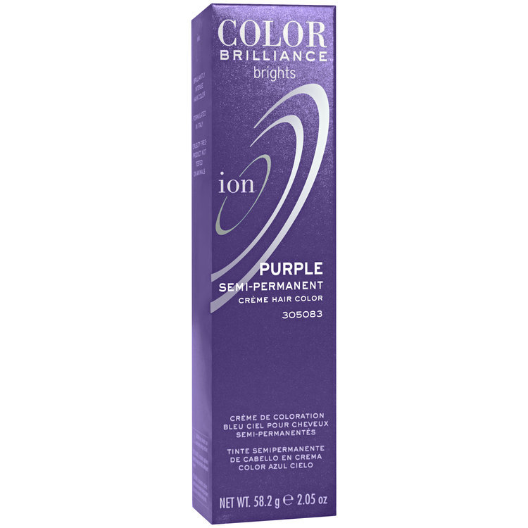Ion Color Brilliance Brights Semi Permanent Hair Color Purple Reviews