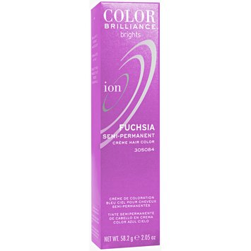 Ion fuschia hair color review