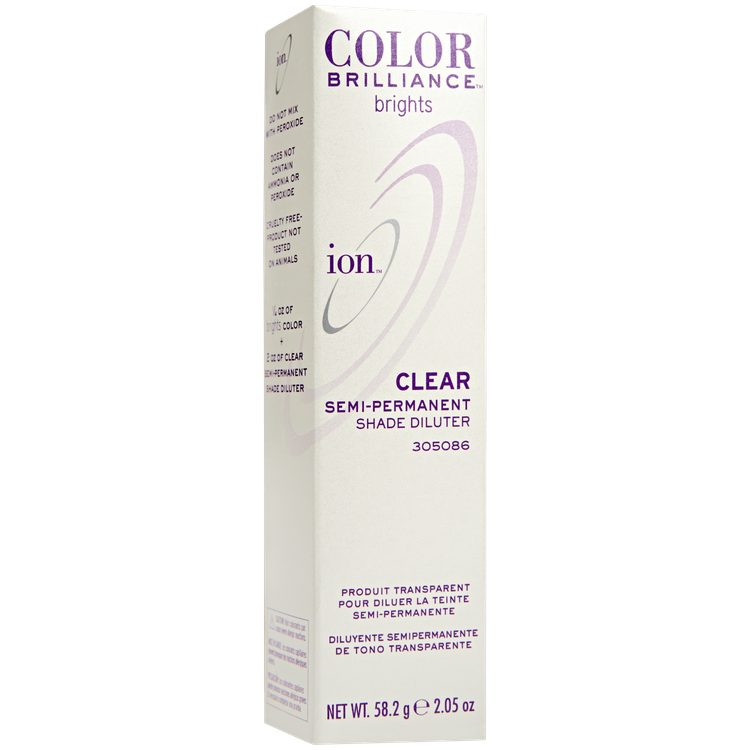Ion Color Brilliance Semi Permanent Brights Clear Shade Diluter Reviews