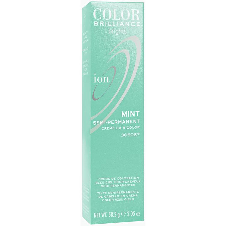 Ion Color Brilliance Semi Permanent Brights Hair Color Mint Reviews