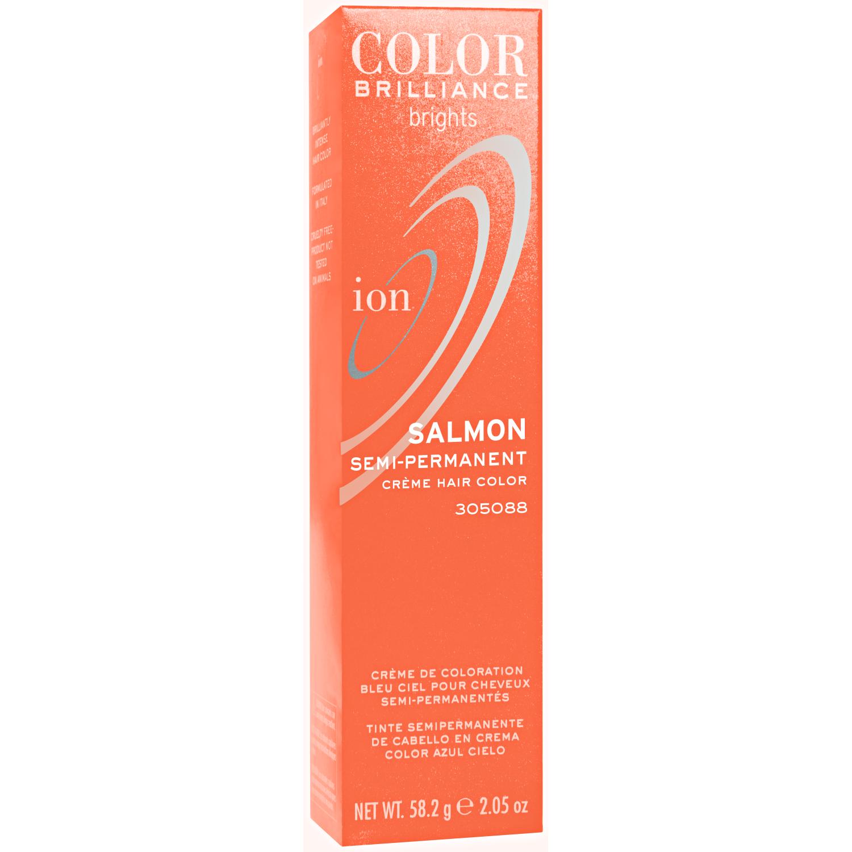 Ion Color Brilliance Brights Semi-Permanent Hair Color Salmon