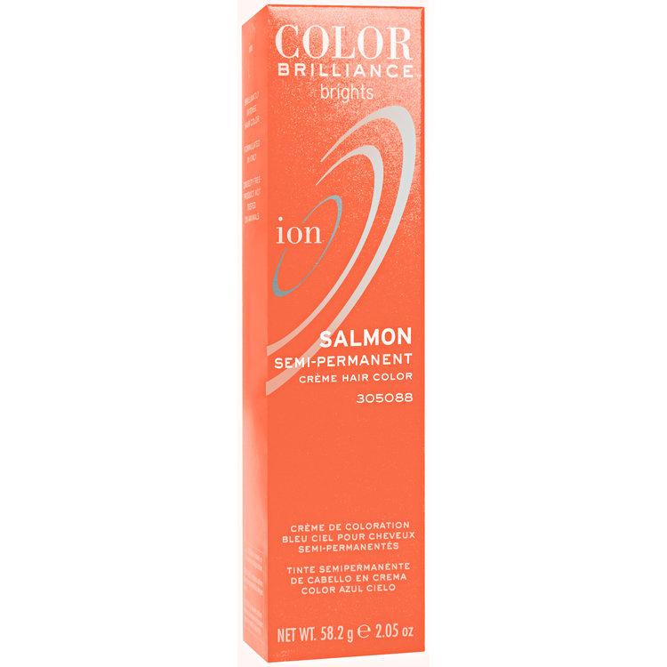 Ion Color Brilliance Brights Semi Permanent Hair Color Salmon