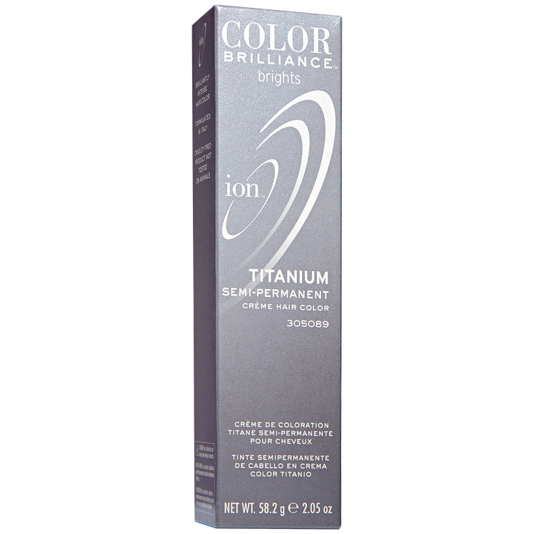 Ion Color Brilliance Brights Semi Permanent Hair Color Titanium Reviews