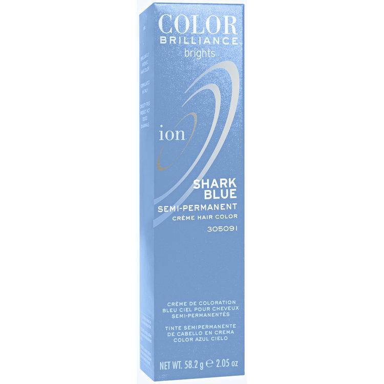 Ion Color Brilliance Brights Semi Permanent Hair Color Shark Blue