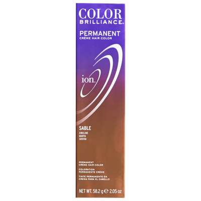 Ion color Brilliance Master Colorist Series Permanent Creme Hair Color Sable