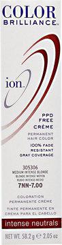 Ion Color Brilliance Permanent Creme Intense Neutrals 7NN Medium Intense Blonde