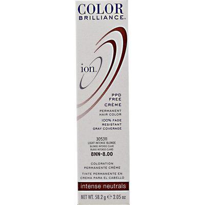 Ion Color Brilliance Permanent Creme Intense Neutrals 8NN Light Intense Blonde