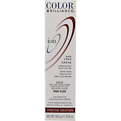 Ion Color Brilliance Permanent Creme Intense Neutrals 9NN Very Light Intense Blonde