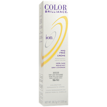 IOn Permanent Creme Hair Color 9A Very Light Ash Blonde