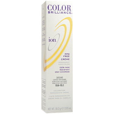 Ion Color Brilliance Permanent Creme Hair Color 10A