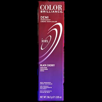 Ion Color Brilliance Master Colorist Series Demi Permanent Creme Hair Color Black Cherry