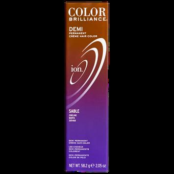 Ion Color Brilliance Master Colorist Series Demi Permanent Creme Hair Color Sable