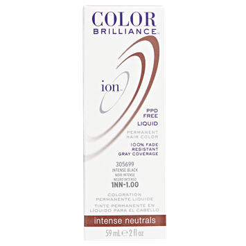 Ion Color Brilliance Permanent Liquid Hair Color 1NN Intense Black