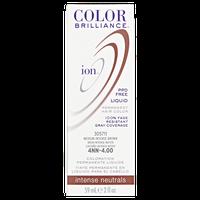 Ion Color Brilliance Permanent Liquid Hair Color 4NN Medium Intense Brown