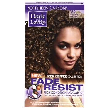 Dark & Lovely Dark and Lovely Fade Resistant Hair Color in Iced Coffee: Cool Latte 352