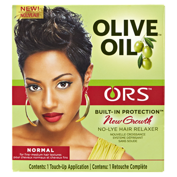 Organic Root Stimulator ORS Olive Oil Built-In Protection New Growth No-Lye Hair Relaxer Normal