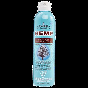 Creative Lab Moist Hemp Argan Spray-On Body Moisturizer