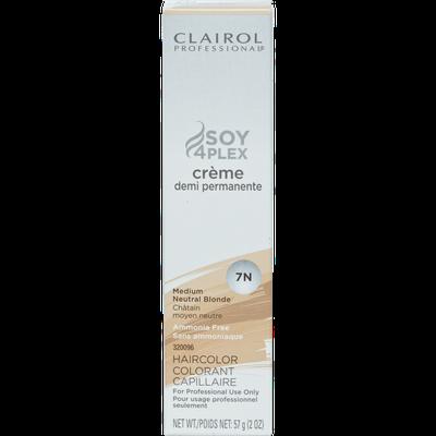 Clairol Professional Pro Creme Demi 7N Medium Neutral Blonde