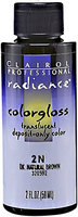 Clairol Professional Radiance Semi-Permanent Hair Color 2N