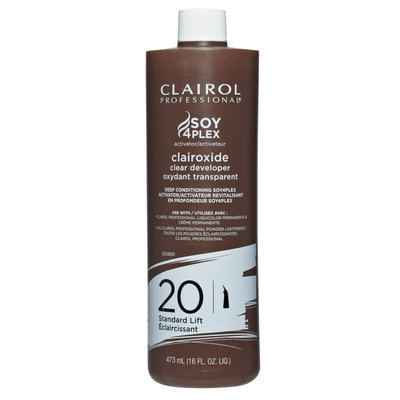 Clairol Professional Clairoxide 20-Volume Clear Developer 16 oz
