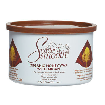 Suddenly Smooth Honey Wax With Argan Oil