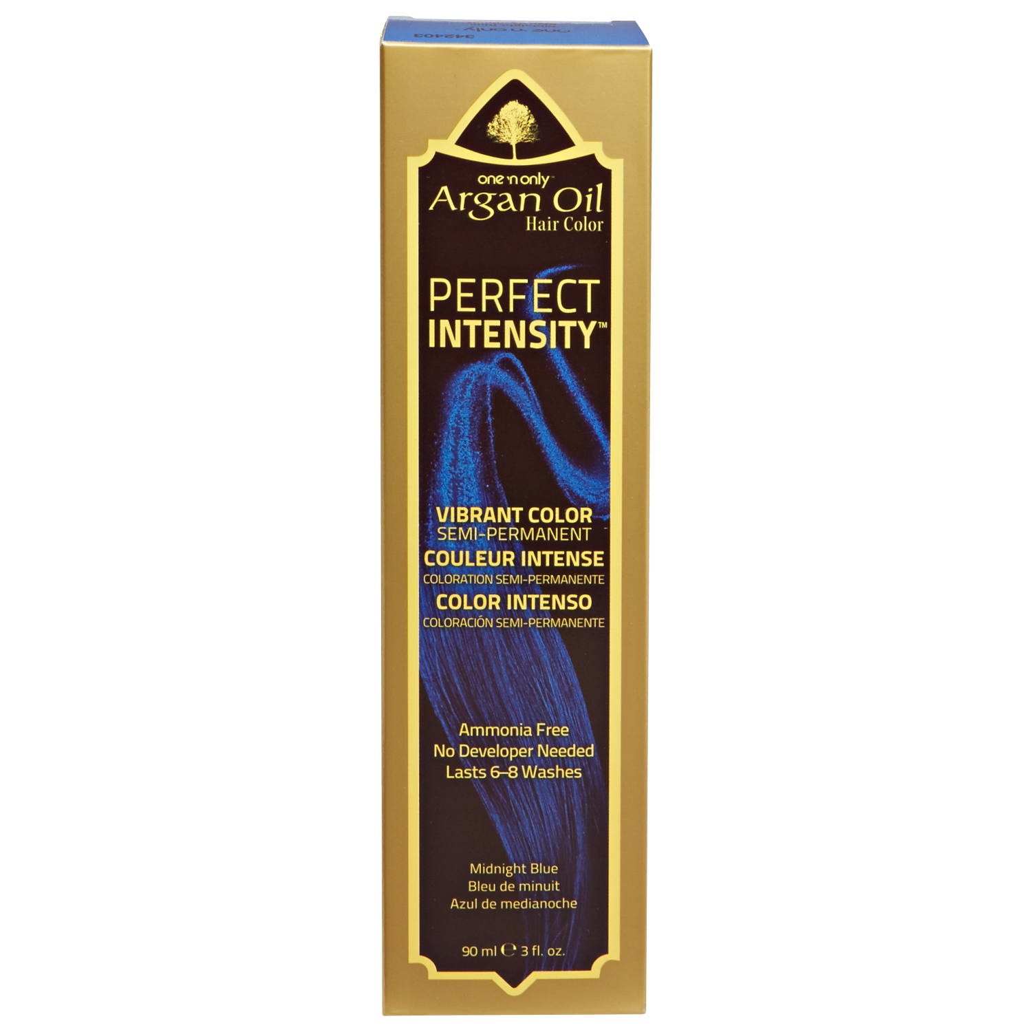 One 'n Only Argan Oil Hair Color Perfect Intensity Midnight Blue